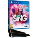 Lets Sing 2017 + 2 Micros - PS4